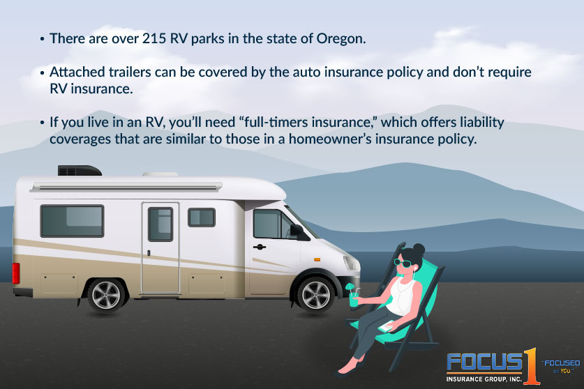 RV ownership and insurance facts for worker's in Oregon - Focus1 Insurance Group