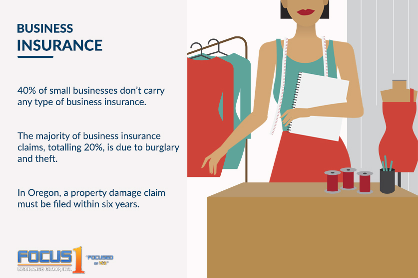 Business insurance facts for residents in Oregon - Focus1 Insurance Group